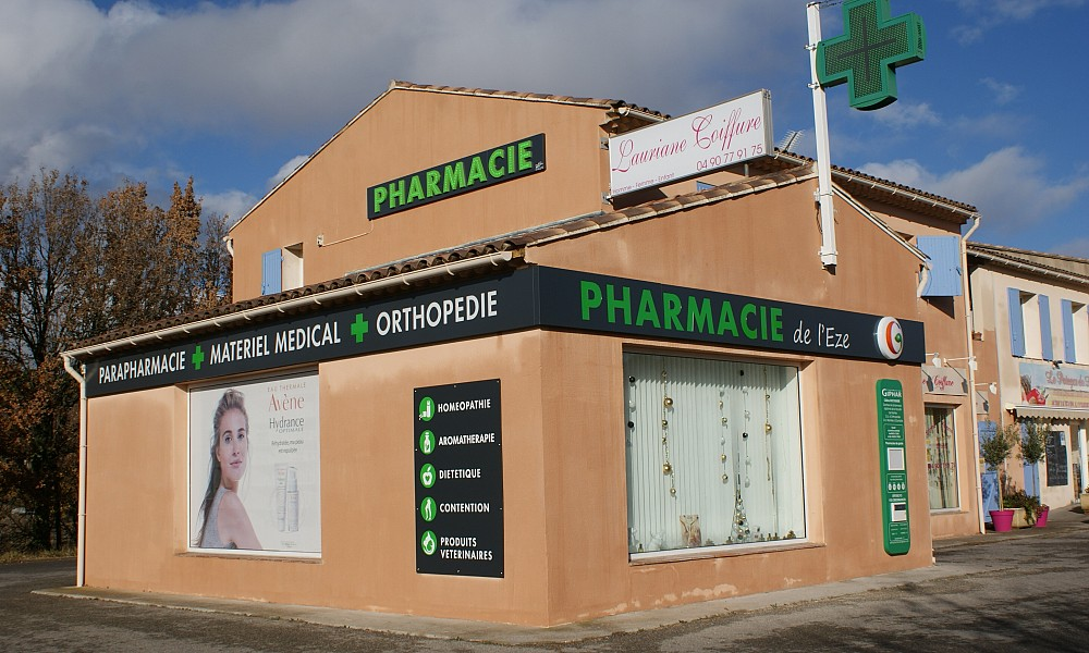 Communication de la pharmacie de l'Eze